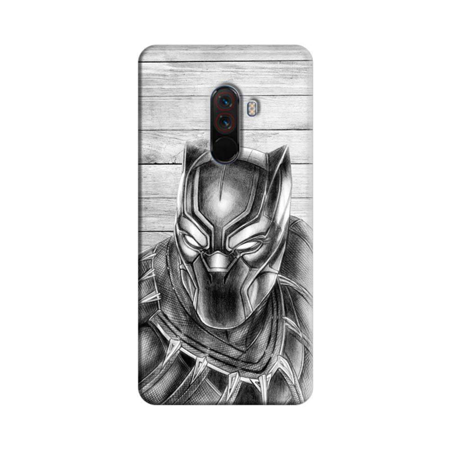 Xiaomi Poco F1 Mangomask  Xiaomi Poco F1 Mobile Phone Case Back Cover Custom Printed Designer Series  Black Panther 02