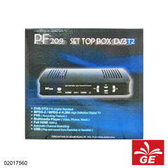 SET TOP BOX DVB-T2 PF209 0 02017560