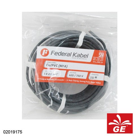 KABEL FEDERAL NYA 1 X 2.5MM 10M HT 02019175