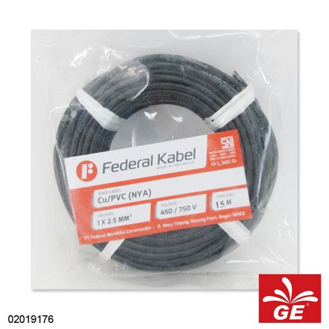KABEL FEDERAL NYA 1 X 2.5MM 15M HT 02019176