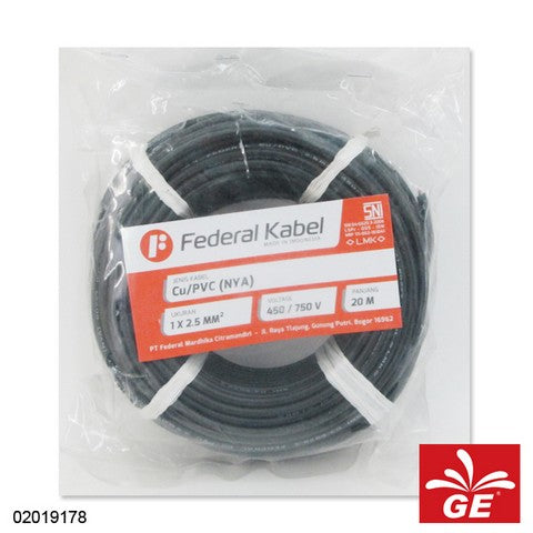 KABEL FEDERAL NYA 1 X 2.5MM 20M HT 02019178