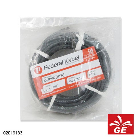 KABEL FEDERAL NYA 1 X 4MM 10M HT 02019183