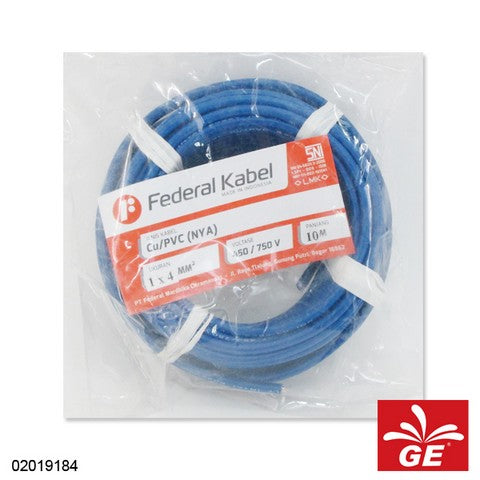 KABEL FEDERAL NYA 1 X 4MM 10M BR 02019184