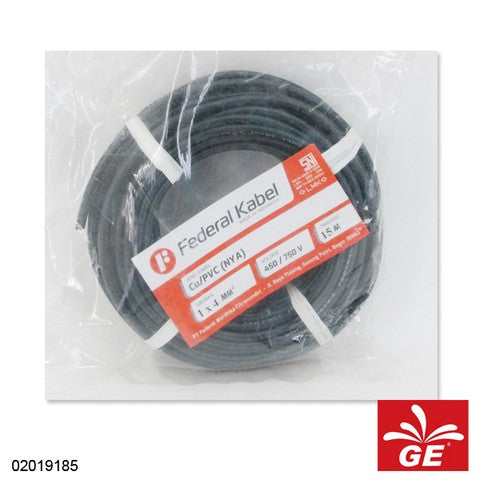 KABEL FEDERAL NYA 1 X 4MM 15M HT 02019185