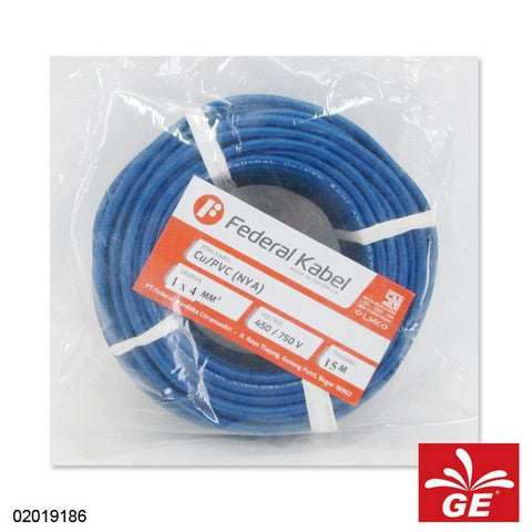 KABEL FEDERAL NYA 1 X 4MM 15M BR 02019186
