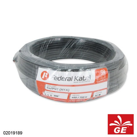 KABEL FEDERAL NYA 1 X 4MM 30M HT 02019189
