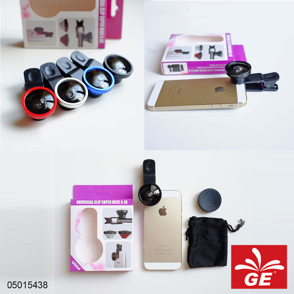 Fish Eye Lensa Universal Clip Superwide 0.4X U0040 5015438
