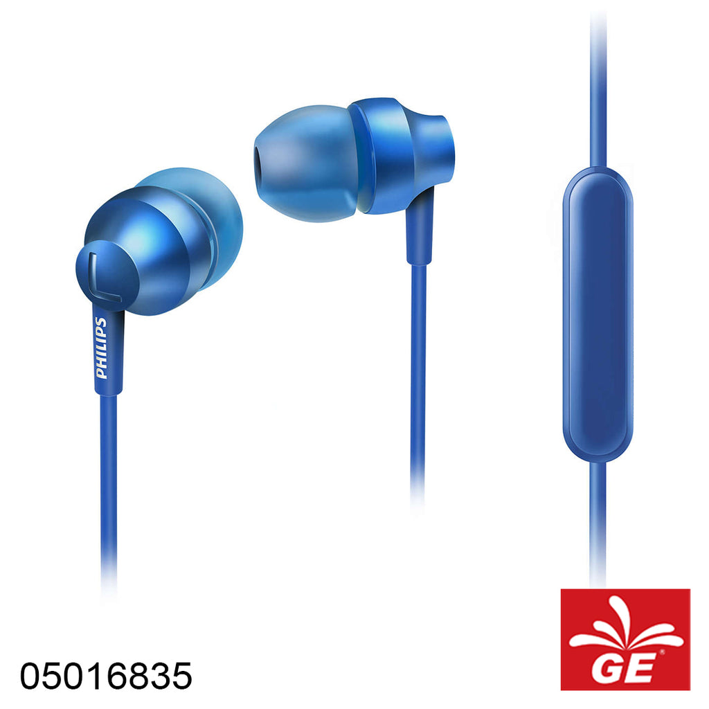 Earphone Philips SHE-3855, Blue 05016835