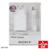 SONY CP-AD2A/W USB AC adaptor with charging cable 05017297