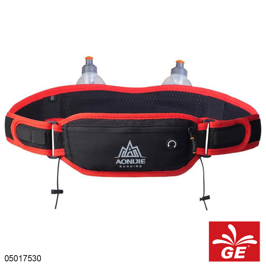 Aonijie Kettle Waist Bag W937 M or L Black Red 05017530