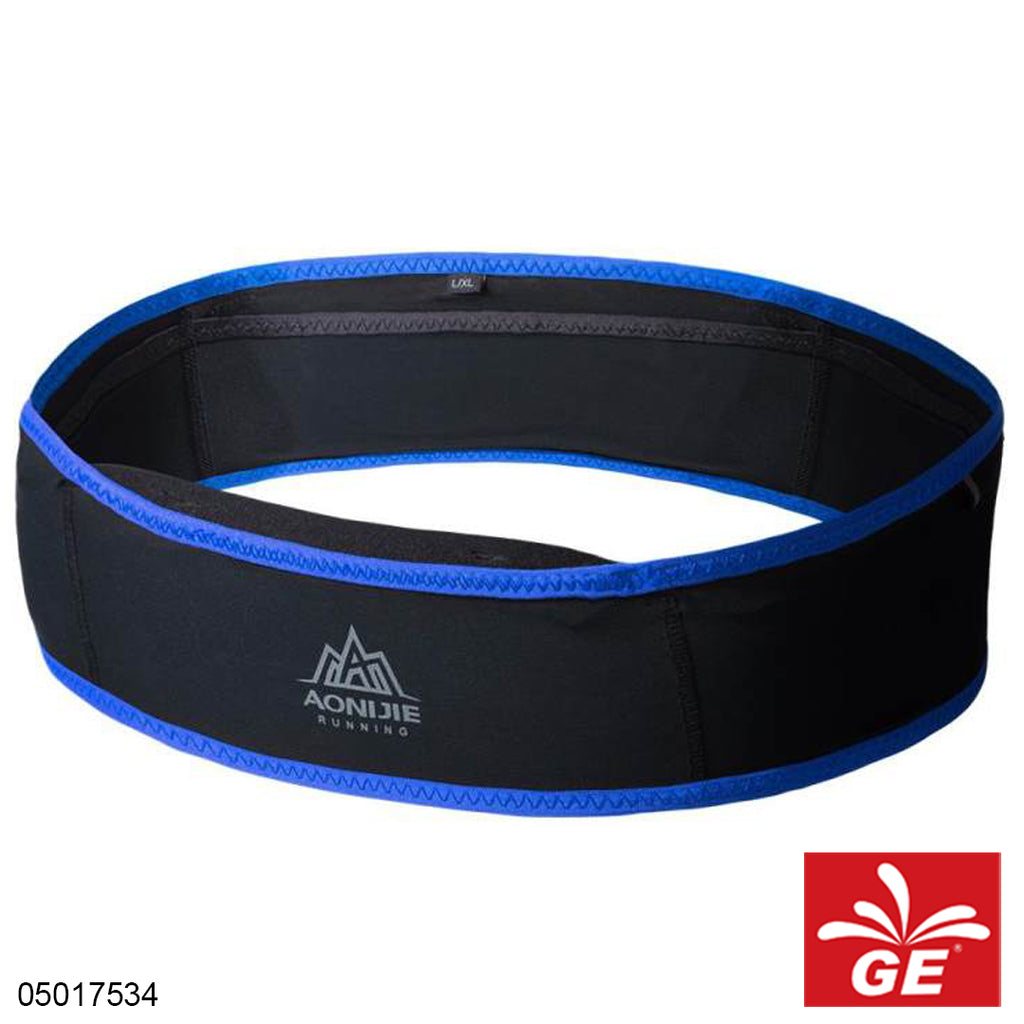 Aonijie Running Waist Bag Belt W938 S or M Black Blue 05017534