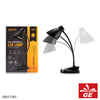 Lampu Meja LED REMAX RT-E500 Dual-Usebase And Clip Hitam 05017783