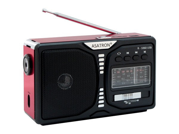 Asatron R-1060 USB (Radio + Senter)