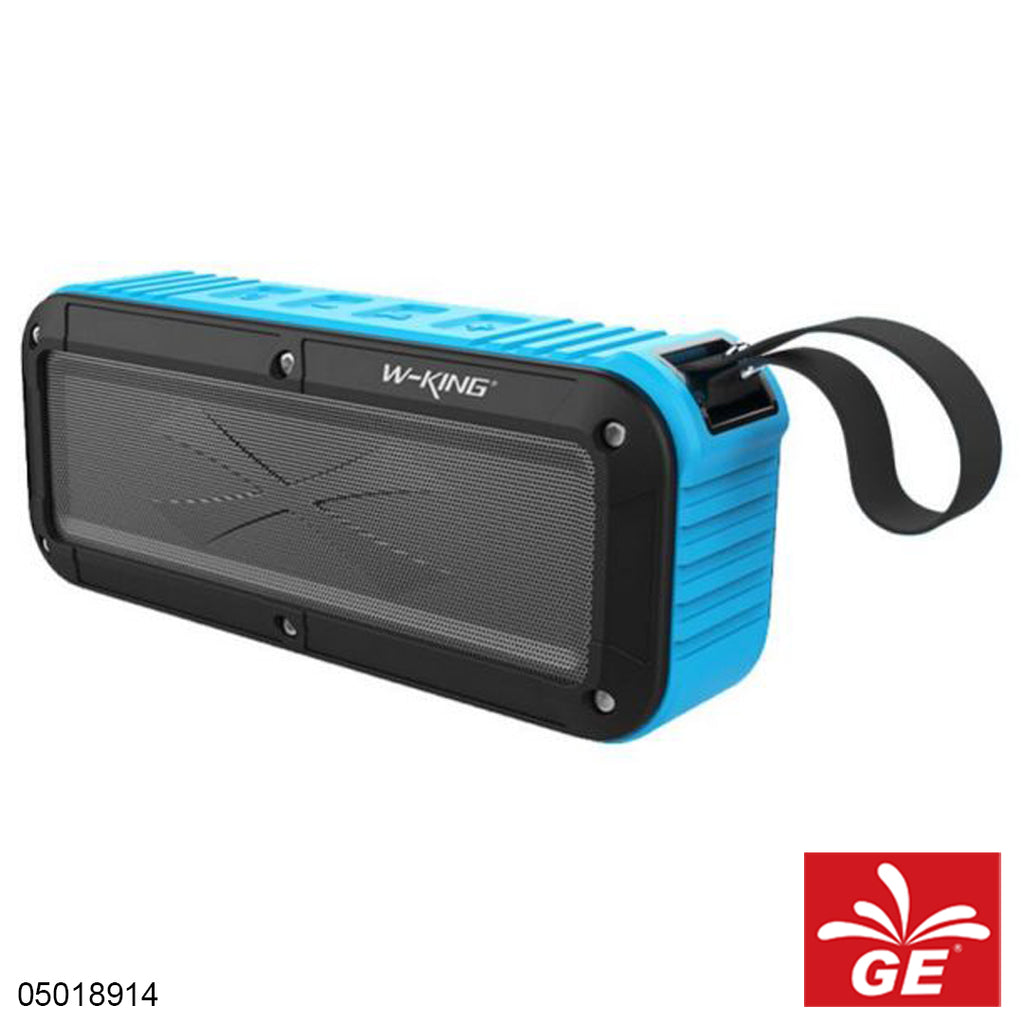 Speaker Mini W-KING S20 Bluetooth Black Blue Pay Day 05018914