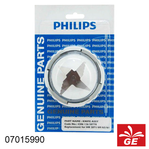 Blender Philips Knife Assy HR2001 56 Spare Parts 07015990