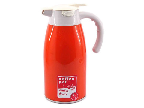 THERMOS KOPI / TEH, HOT & COLD 2 LITER, DOUBLE WALL B-1219, ORG