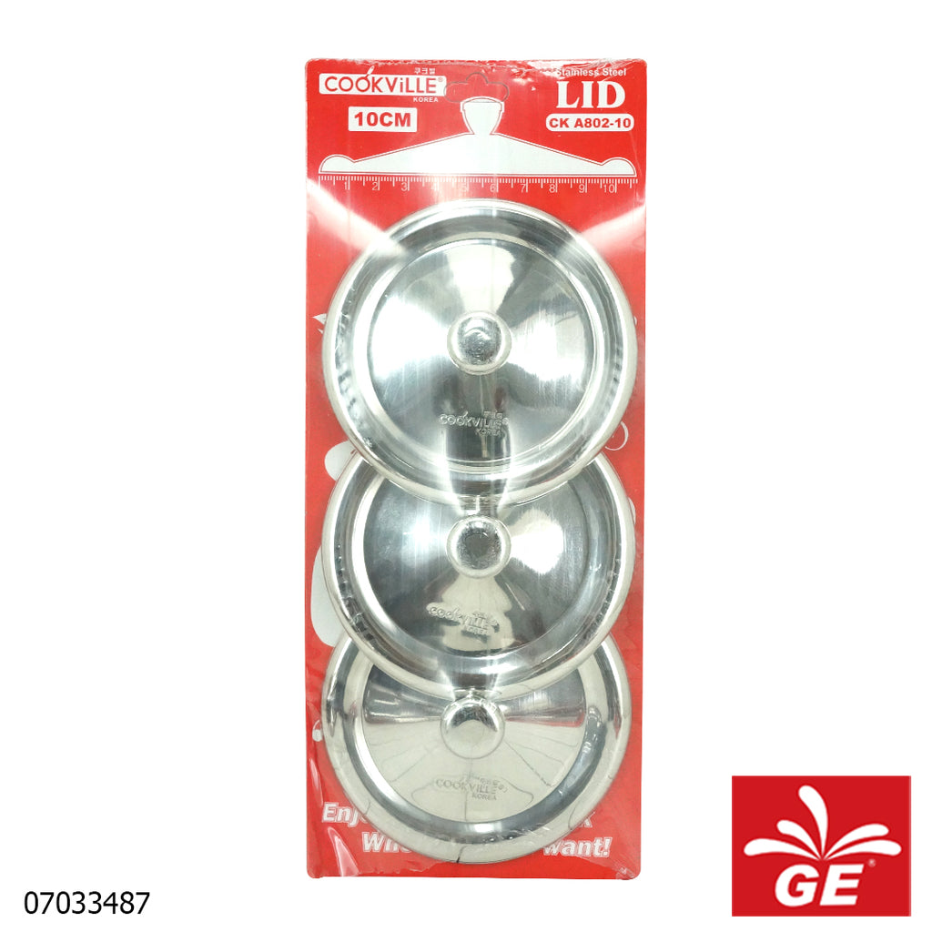Cook Ville Tutup Gelas CKA802-10-3 3 Pcs Stainless Steel 07033487