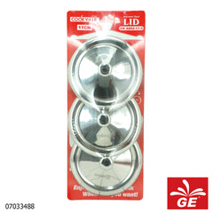 Cook Ville Tutup Gelas CKA802-11-3 3 Pcs Stainless Steel 07033488