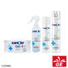 Tissue Basah & Spray Sanitizer SANITER Disinfectant Fresh Clean