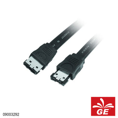 Kabel eSATA-eSATA For External Hard Disk 2M Hitam 09003292