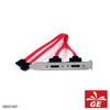 Kabel ESATA Back Panel 2 Pin Merah 09007407