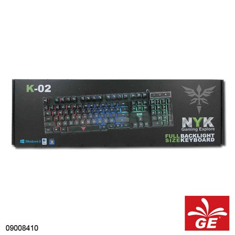KEYBOARD GAMING NYK K02 / K-02 CHROMA 09008410