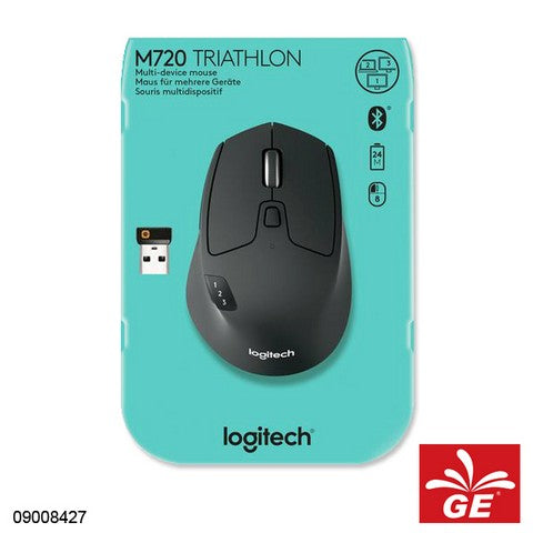 MOUSE LOGITECH M720 TRIATHLON MULTI DEVICE WIRELESS 09008427