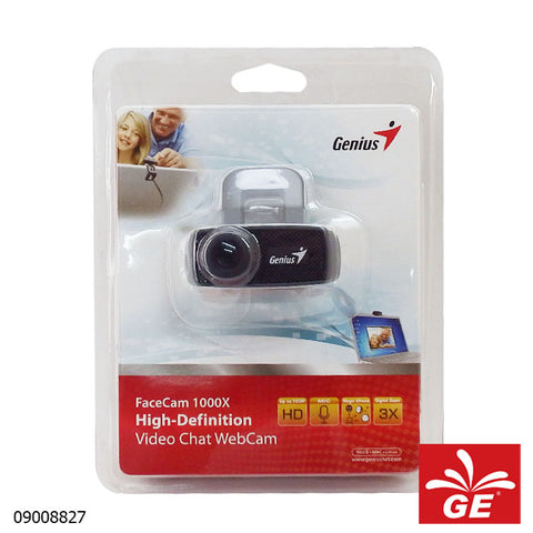 FACECAM GENIUS 1000X V2 720p HD WEBCAM 09008827