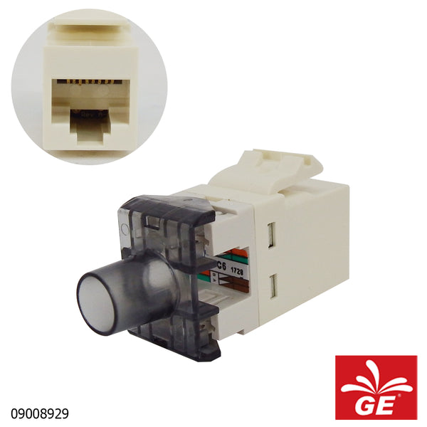 Adapter COMMSCOPE RJ45 Jack CAT6 1933748-1 09008929