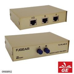 RJ45 Ethernet FJGEAR Switch A-B 2 Port 09008952