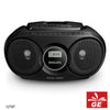 PHILIPS AZ215 HITAM SOUND MACHINE PEMUTAR CD/FM RADIO MODEL BARU 12797