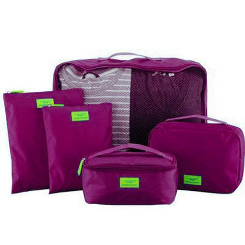 M SQUARE Travel Tas  5PC S-141479 16.7