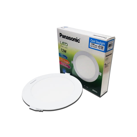 Lampu Downlight LED PANASONIC NNP 735663031 Cool Daylight 12W 155mm 24000268