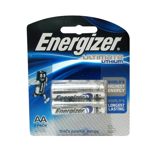 Baterai ENERGIZER Ultimate Lithium AA FR6 1.5V 9710