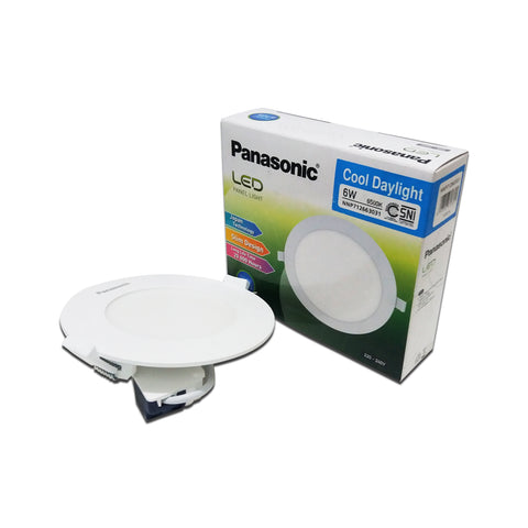 Lampu Downlight LED PANASONIC NNP 712663031 Cool Daylight 6W 105mm 24000266