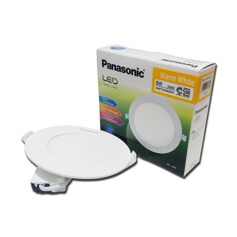 Lampu Downlight LED PANASONIC NNP 722563031 Warm White 8W 105mm 24000267
