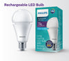Lampu Bohlam LED PHILIPS Rechargeable LED Blub Cool Daylight E27 7W 6500K 24000289