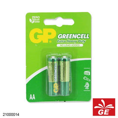 BATERAI GP AA / A2 BP2 GREENCELL 21000014