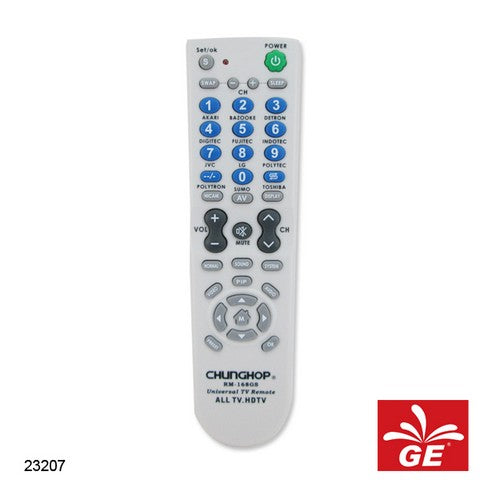 REMOTE CHUNGHOP TV LED RM-168GS 23207
