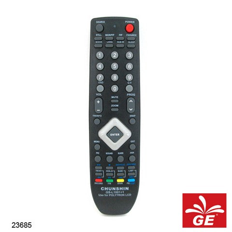 REMOTE CHUNSHIN LCD LED TV RM-L1001 23685