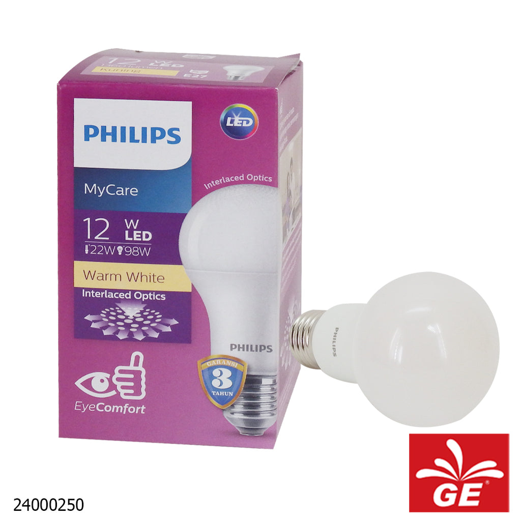 Philips Lampu LED MyCare 12-98W Warm White 24000250