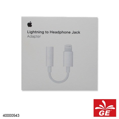 IPHONE5 LIGHTNING TO HEADPHONE JACK ADAPTER CONVERTER 40000543