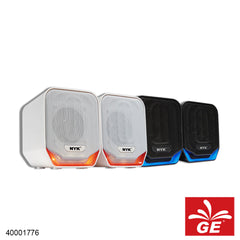 Gaming Speaker NYK NEMESIS SP-N01 Hitam/Putih 40001776/77