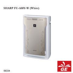 Air Purifier SHARP FU-A80Y-W/AM High Density 7000 Putih/Emas 56334/55029