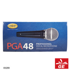 Mic Microphone Wireless Krezt PGA 48+S White 83299