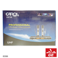 MICROPHONE WIRELESS CAROL UW-796 83306
