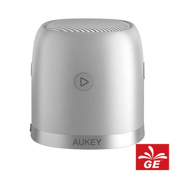 Speaker Aukey SK-M31 Bluetooth Mini With Enhances Bass & Metal Housing Silver 05017576