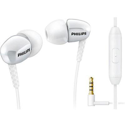 Philips In-Ear Phones with Mic SHE3905WT