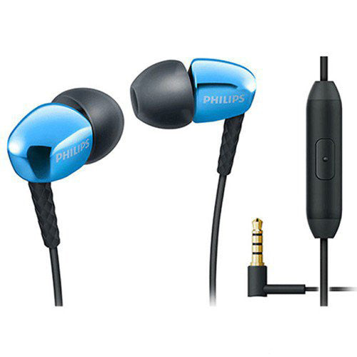 Earphone Philips With Mic SHE3905BL 05014882