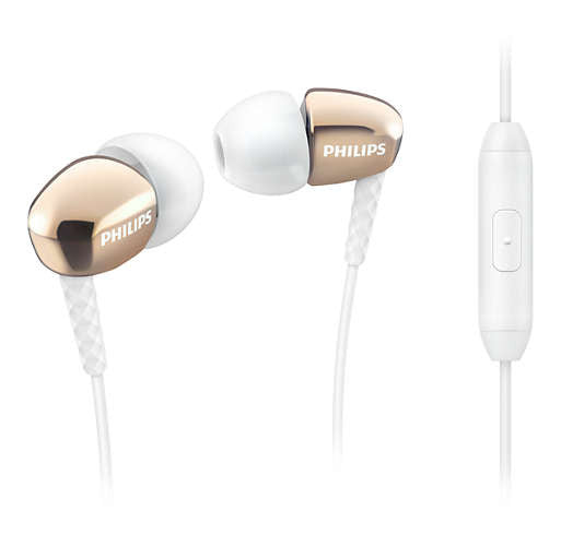 Earphone Philips With Mic SHE3905GD 05014881